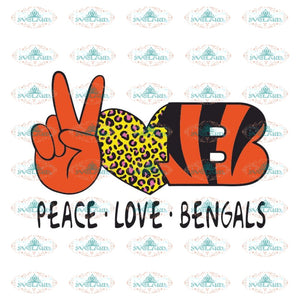 Cincinnati Bengals Svg, For Life Bengals Svg, Cricut File, Clipart, Football Svg, NFL Svg, Sport Svg, Love Football Svg, Love Bengals Svg26