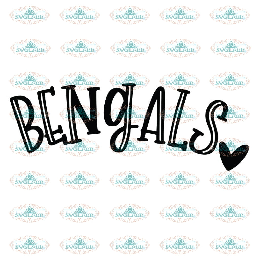 Cincinnati Bengals Svg, For Life Bengals Svg, Cricut File, Clipart, Football Svg, NFL Svg, Sport Svg, Love Football Svg, Love Bengals Svg30