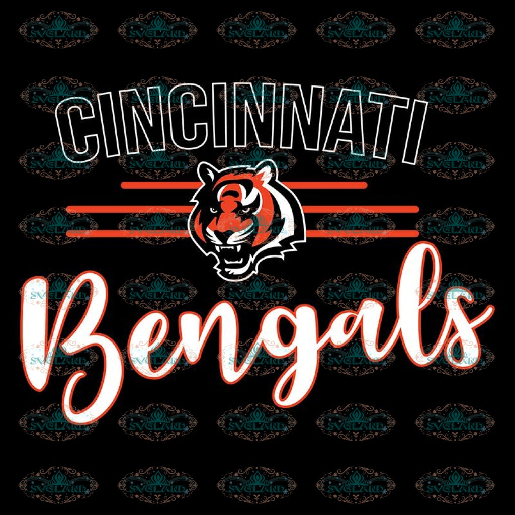 Cincinnati Bengals Svg, Love Bengals Svg, Cricut File, Clipart, Football Svg, NFL Svg, Sport Svg, Love Football Svg1