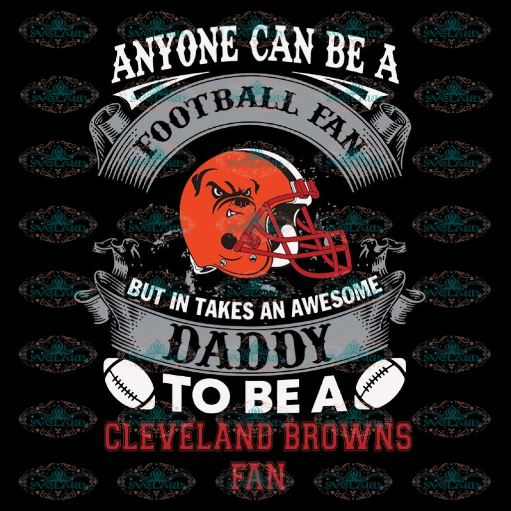 Cleveland Browns Svg, Football Fan Browns Svg, Love Browns Svg, Cricut File, Clipart, Football Svg, Skull Svg, NFL Svg, Sport Svg, Love Football Svg