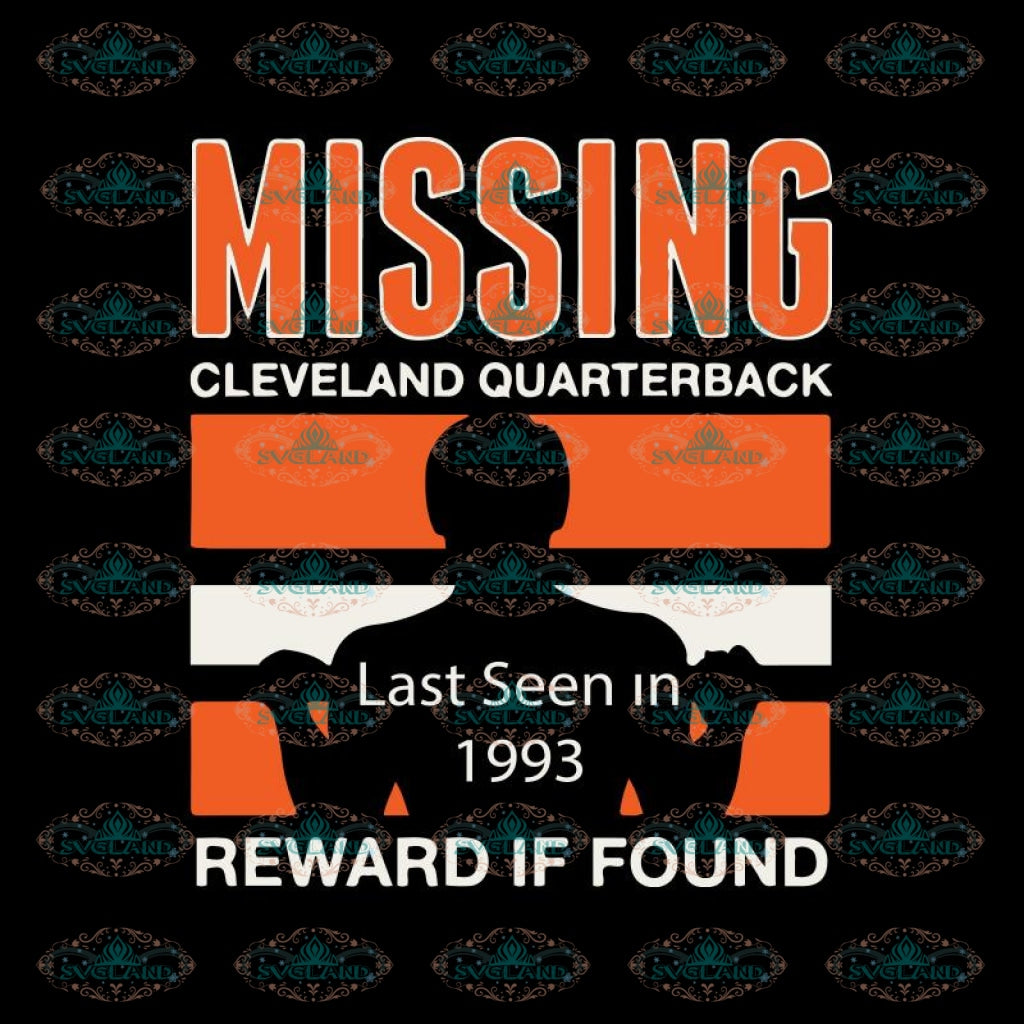 Cleveland Browns Svg, Football Missing Browns Svg, Love Browns Svg, Cricut File, Clipart, Football Svg, Skull Svg, NFL Svg, Sport Svg, Love Football Svg