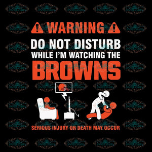 Cleveland Browns Svg, Football Warning Browns Svg, Love Browns Svg, Cricut File, Clipart, Football Svg, Skull Svg, NFL Svg, Sport Svg, Love Football Svg