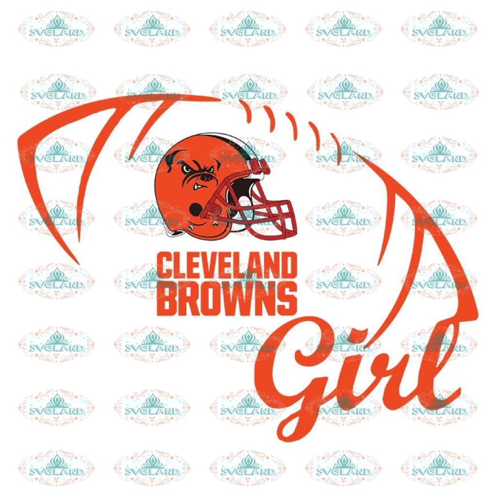 Cleveland Browns Svg, Love Browns Svg, Browns Girl Svg, Cricut File, Clipart, Football Svg, Skull Svg, NFL Svg, Sport Svg, Love Football Svg