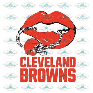 Cleveland Browns Svg, Browns Sexy Lips Svg, Love Browns Svg, Cricut File, Clipart, Football Svg, Skull Svg, NFL Svg, Sport Svg, Love Football Svg