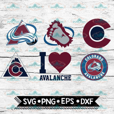 Colorado Avalanche Svg, Sport, Bundle, NHL, Svg