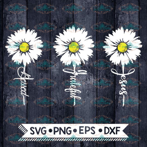 Daisy Svg, Christian Svg, Religion Svg, Cross Svg, Catholic Svg, Blessed Svg, Cricut File, Svg, Bundle, Svg, Jesus Svg