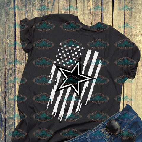 Dallas Cowboys Dallas Svg American Flag Us Independence Day 4Th Of July Digital