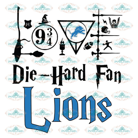 Detroit Lions Svg, Harry Potter Svg, Cricut File, Clipart, NFL Svg, Football Svg, Sport Svg, Love Football Svg, Png, Eps, Dxf