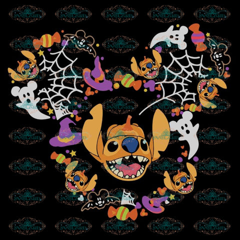 Disney Halloween Svg, Stitch Svg, Halloween Svg, Cricut, Clipart, Ghost Svg, Disney Svg, Mickey Mouse Svg