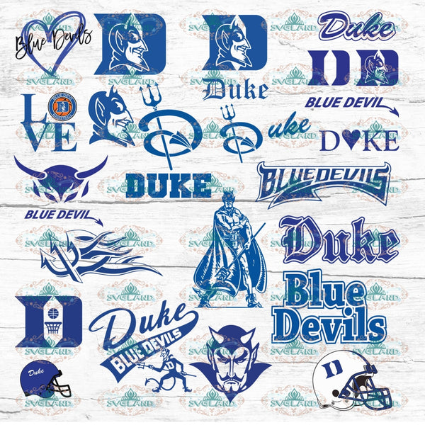 Duke Blue Devils Bundle File Football College Shirt American Nfl Ncaa Digital