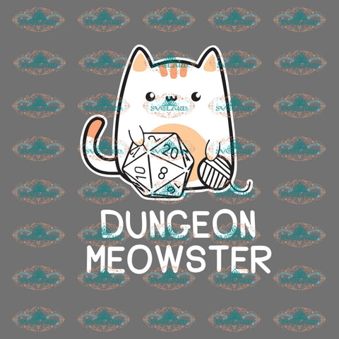 Dungeon Meowster Meowster Shirt Gamer Tabletop Gaming Gift T-Shirt Rpg Roleplaying Game Thanksgiving