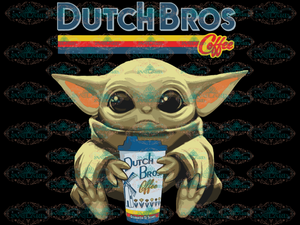 Dutch Bros Jeli Baby Jedi Star War Png Digital