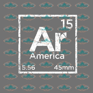 Element Ar 15 Periodic Table Svg Dxf Digital Download Cnc Laser Plasma Water Jet Router File 2Nd