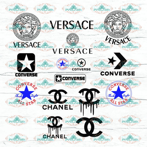 Fashion Logo Fashion Svg Lv Givenchy Hermes Calvin Klein Valentino Gucci Chanel Fendi Lacoste Png