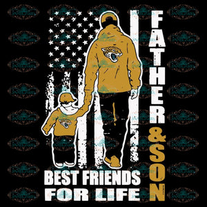 Father And Son Best Friends For Life Jaguars Svg, NFL Svg, Cricut File, Clipart, Jacksonville Jaguars Svg, Football Svg, Sport Svg, Love Football Svg, Png, Eps, Dxf