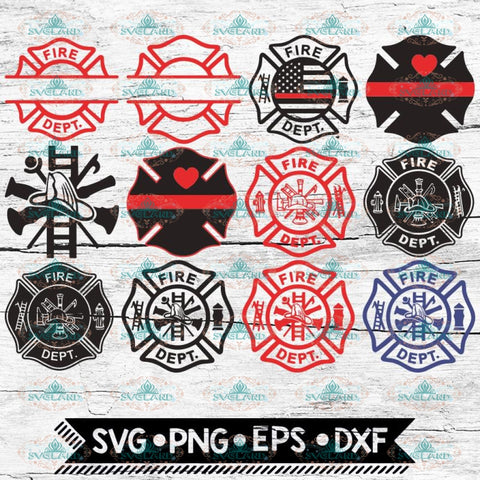 Firefighter SVG, Bundle, files for cricut, Logo Svg, Svg