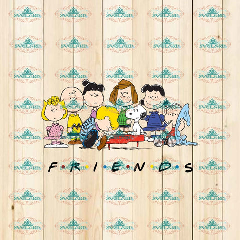 Friends Snoopy Dog Friend Gift Png Digital