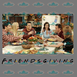 Friendsgiving Thanksgiving Day Gift For Friends Png Digital