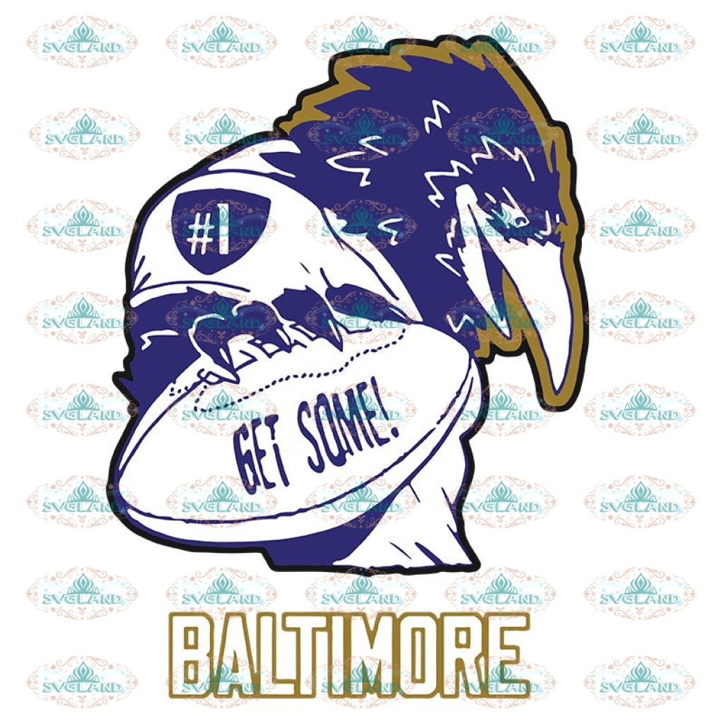 Get some Baltimore Svg, Cricut File, Clipart, NFL Svg, Sport Svg, Football Svg, Raven Svg, Png, Eps, Dxf