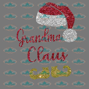 Grandma Claus Grandma Santa Claus Winter Christmas Decor Merry Gift Png Digital