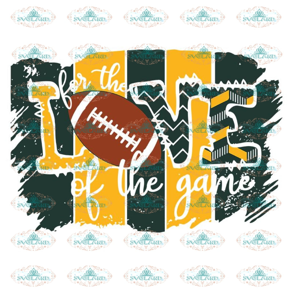 Green Bay Love Football Sublimation Svg, Greenbay Packers Svg, Team Packers, NFL Svg, Cricut File, Clipart, Sport Svg
