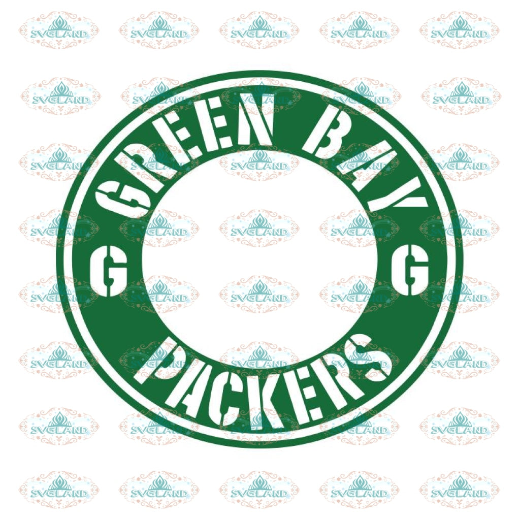 Green Bay Packers Cut File, Digital File for Starbucks Reusable Cold Cup, Cricut Silhouette, Clipart, NFL Svg, Football Svg, Sport Svg