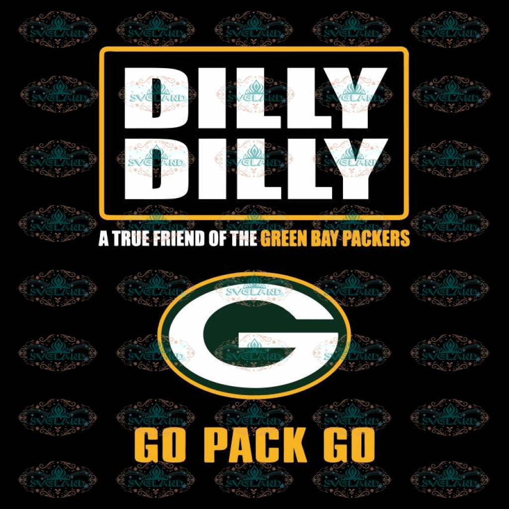 Green Bay Packers Cut File, Packers Quotes, Cricut Silhouette, Clipart, NFL Svg, Football Svg, Sport Svg, Dilly Dilly Svg