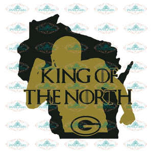 Green Bay Packers Cut File, Packers Quotes, Cricut Silhouette, Clipart, NFL Svg, Football Svg, Sport Svg, King Of The North Svg