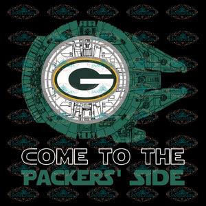 Green Bay Packers Png, Come To The Packers' Side Svg, Starwars Love Football Svg, Cricut File, Clipart, Football Svg, Sport Svg, NFL Svg, Sport Svg