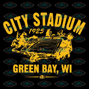 Green Bay Packers Svg, City Stadium 1925 Green Bay Packers Svg, Cricut File, Clipart, Football Svg, Sport Svg, NFL Svg, Sport Svg