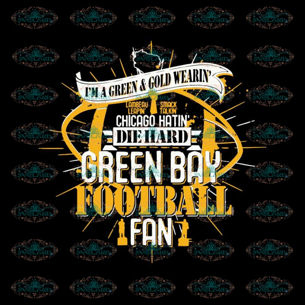 Green Bay Packers Svg, Green Bay Fan Football Svg, Minecraft Svg, Cricut File, Clipart, Football Svg, Sport Svg, NFL Svg, Sport Svg