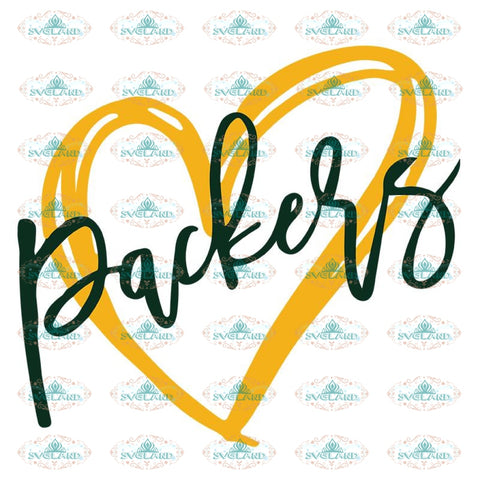 Green Bay Packers Svg, Green Bay Go Packers Logo Love Svg, Cricut File, Clipart, Football Svg, Sport Svg, NFL Svg, Sport Svg