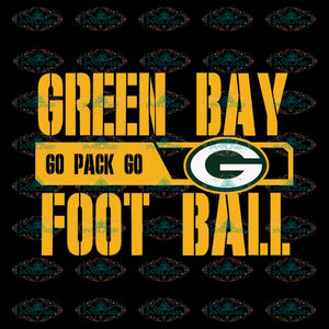 Green Bay Packers Svg, Green Bay Go Pack Go Football Svg, Cricut File, Clipart, Football Svg, Sport Svg, NFL Svg, Sport Svg