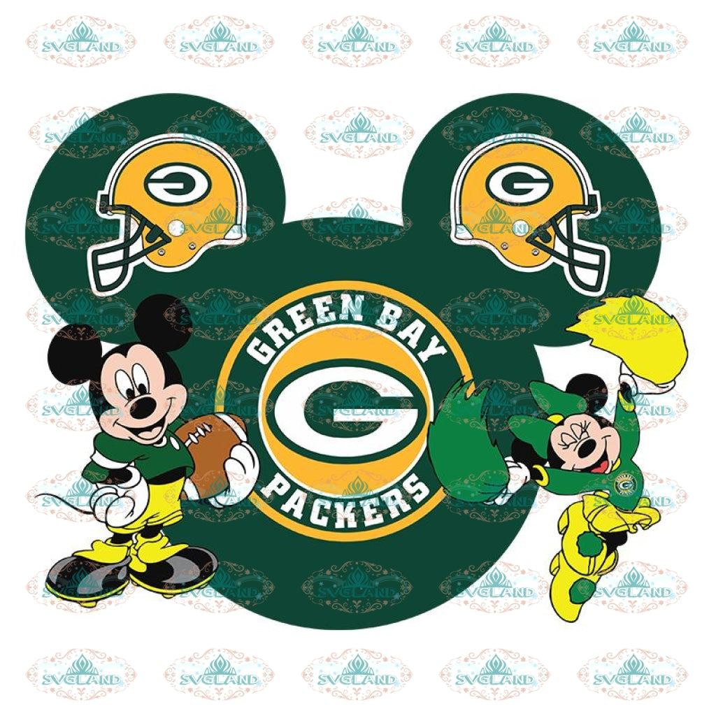 Green Bay Packers Svg, Packers Quotes, Cricut Silhouette, Clipart, NFL Svg, Football Svg, Sport Svg, Packers Football Svg, Disney Svg