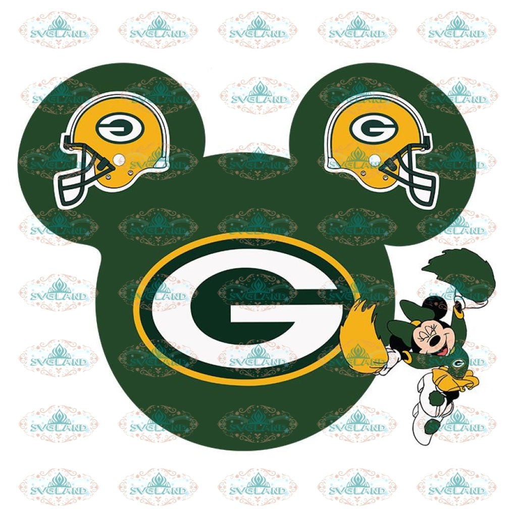 Green Bay Packers Svg, Packers Quotes, Cricut Silhouette, Clipart, NFL Svg, Football Svg, Sport Svg, Packers Football Svg, Disney Svg 2