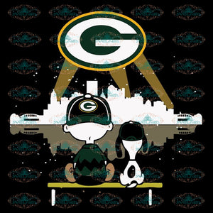 Green Bay Packers Svg, Snoopy And Peanut Svg, Cricut File, Clipart, NFL Svg, Football Svg, Sport Svg, Love Football Svg, Png, Eps, Dxf