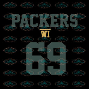 Green Bay Packers Svg, Packers WI 69 Football Svg, Cricut File, Clipart, Football Svg, Sport Svg, NFL Svg, Sport Svg