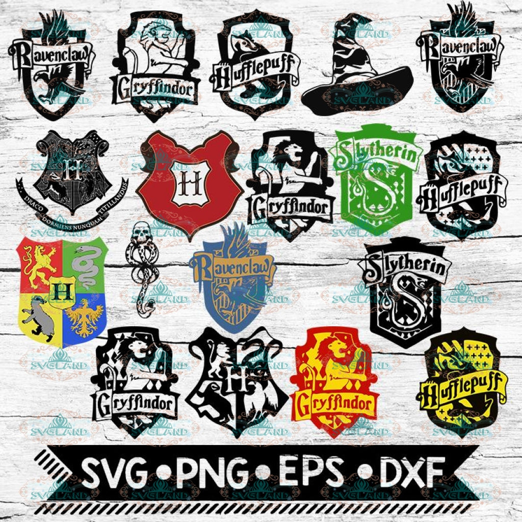 Harry Potter Svg, Hogwarts Houses Svg, Harry Potter Svg, Harry Potter Decor, Disney svg, Bundle, Svg1