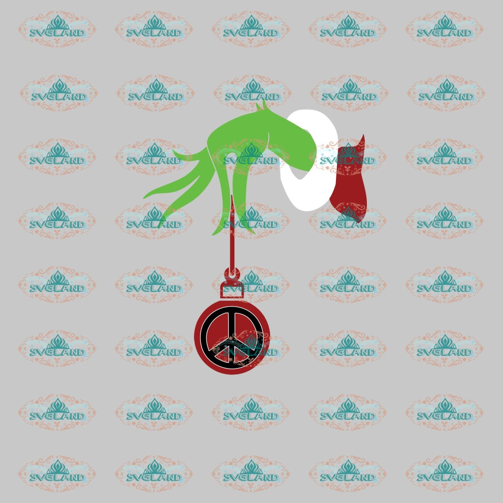 Hippi Grinch Svg Dr Seuss Party Birthday Digital Christmas Decor Gift Merry Outfit