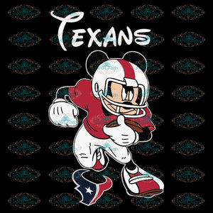 Houton texans Svg, Cricut File, Clipart, NFL Svg, Football Svg, Love Football Svg, Football Mom Svg, Silhouette, Mickey Svg, Png, Eps, Dxf