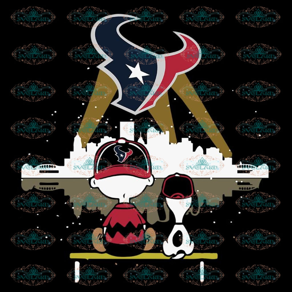 Houton texans Svg, Snoopy And Peanut Svg, Cricut File, Clipart, NFL Svg, Football Svg, Sport Svg, Love Football Svg, Png, Eps, Dxf