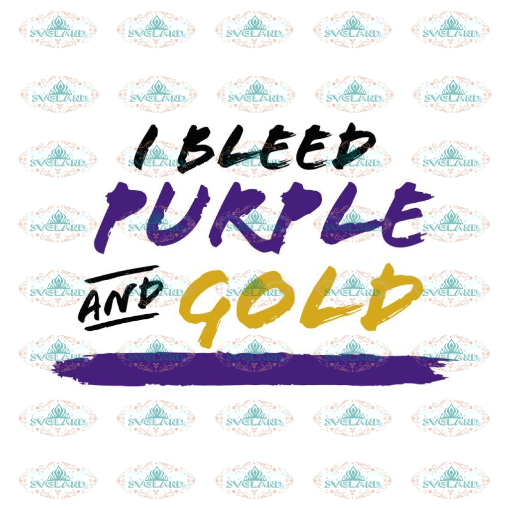 I Bleed Purple and Gold, Minnesota Vikings Svg, Go Vikings Svg, Vikings Quotes Svg, NFL Svg, Cricut File, Clipart, Leopard Svg, Sport Svg, Football Svg