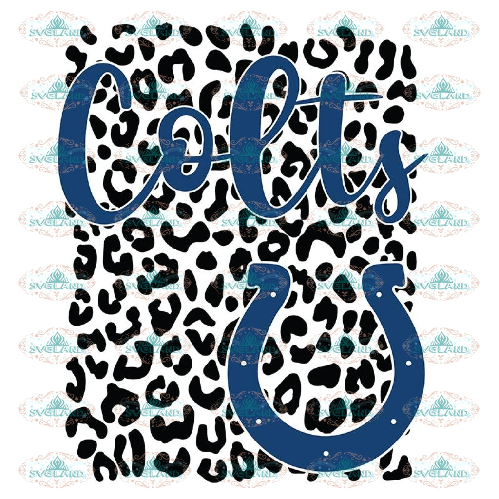 Indianapolis Colts Leopard Spirit Svg, Indianapolis Colts Svg, NFL Svg, Cricut File, Clipart, Leopard Svg, Sport Svg, Football Svg