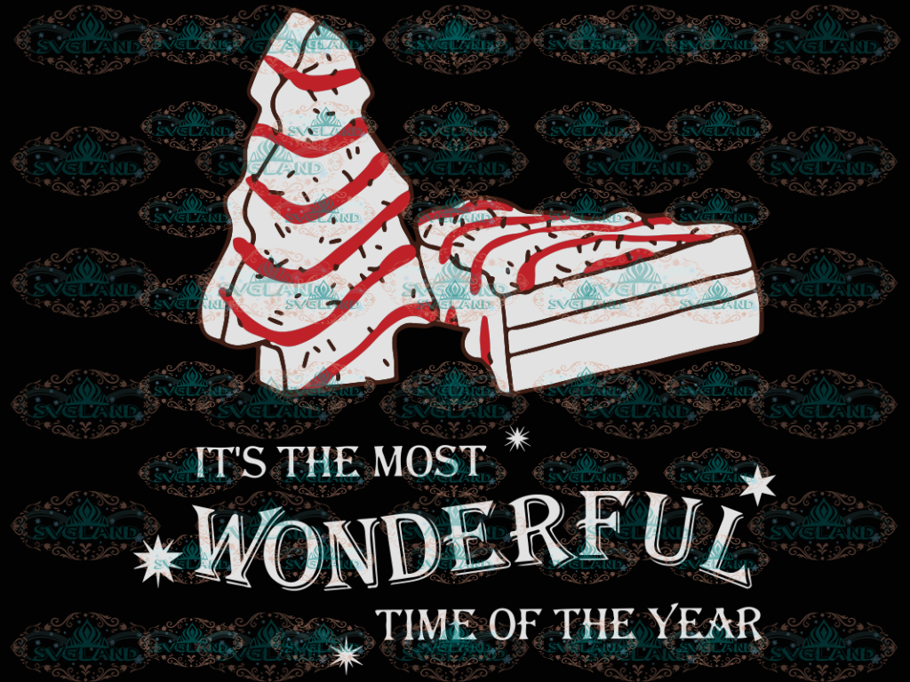Its The Most Wonderful Time Of Year Christmas Cakes Awesome Design Winter Christmas Png Digital