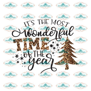 Its The Most Wonderful Time Of Year Christmas Trees Winter Christmas Gift Outfit Png Digital
