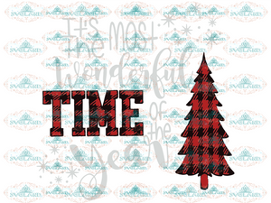 Its The Most Wonderful Time Of Year Png Winter Christmas Gift Outfit Png File Digital
