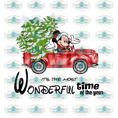 Its The Most Wonderful Time Of Year Png Winter Christmas Outfit Png File Digital