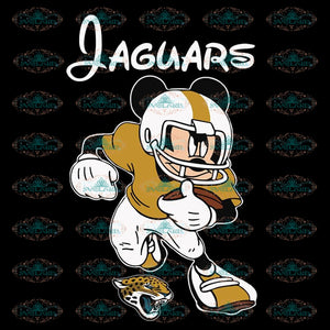 Jacksonville Jaguars Svg, Cricut File, Clipart, NFL Svg, Football Svg, Love Football Svg, Football Mom Svg, Silhouette, Mickey Svg, Png, Eps, Dxf