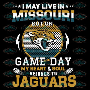 Jacksonville Jaguars Svg, Game Day Svg, Cricut File, Clipart, NFL Svg, Football Svg, Sport Svg, Love Football Svg, Png, Eps, Dxf