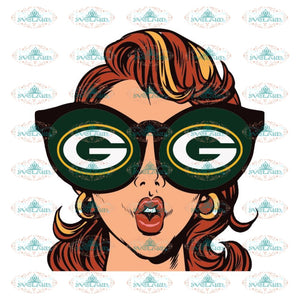 Just A Girl In Love With Her Green Bay Packers Svg, Cricut File, Clipart, NFL Svg, Sport Svg, Football Svg